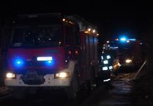 Pożar przy ul. Lwowskiej. Paliła się kapliczka