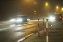 trudne warunki na drodze