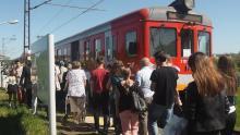 Pociąg czy szynobus .Co tak naprawdę jeździ przez most kolejowy na Dunajcu?