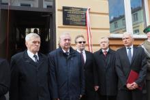 Senator Kogut spełnił obietnicę. Wmurował w Nowym Sączu tablicę upamiętniającą Lecha Kaczyńskiego