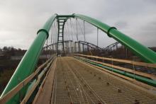 Budują odjechany most na Kamienicy w Nowym Sączu i prawie nikt o nim nie wie?