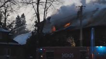 Dlaczego spłonął pensjonat w Krzyżówce. Czy to mogło być podpalenie?