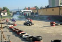 Zawody kartingowe w Samochodówce