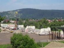 23. dzień rozbiórki mostu heleńskiego
