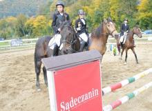 Turniej jeździecki o puchar wójta gminy Łabowa