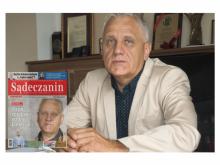 Walenty Szarek dyrektor Zespołu Szkół Mechaniczno-Elektrycznych w Nowym Sączu