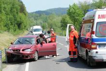 Wypadek w Paszynie