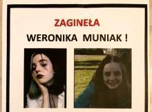 zaginiona Weronika Muniak
