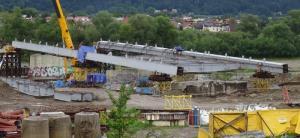 Most heleński wydłuża się