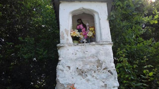 Kapliczka w Biczycach Górnych, fot. AP