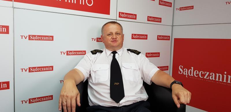 Rozmowa dnia: strażacy interweniowali 454 razy. Nie brakowało wypadków, pożarów