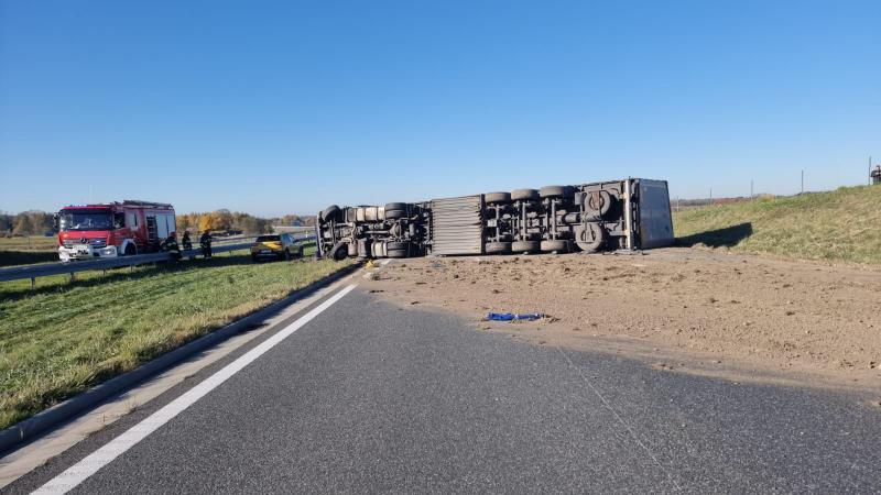 Autostrada A4 w kierunku Krakowa zablokowana. Utrudnienia potrwają wiele godzin