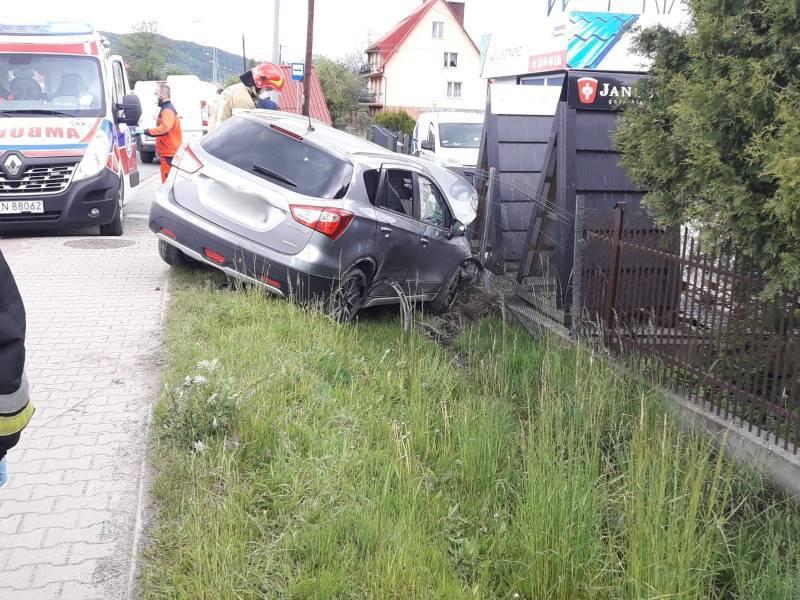 Wypadek w Maszkowicach. Zderzyły się czołowo dwa samochody [ZDJĘCIA]