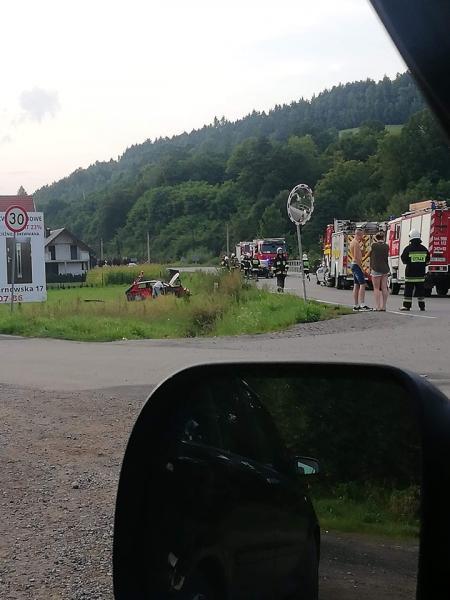 Kamionka Wielka: kraska trzech aut i pięć osób w szpitalu