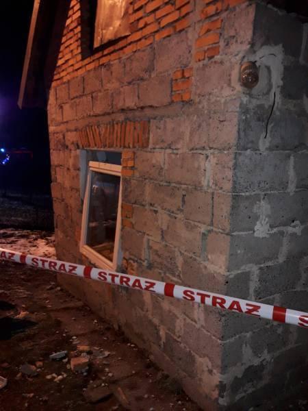 Wybuchła 11-kilogramowa butla z gazem. Jedna osoba jest ranna