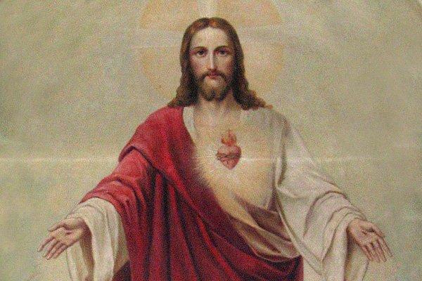Znalezione obrazy dla zapytania najświętsze serce jezusowe