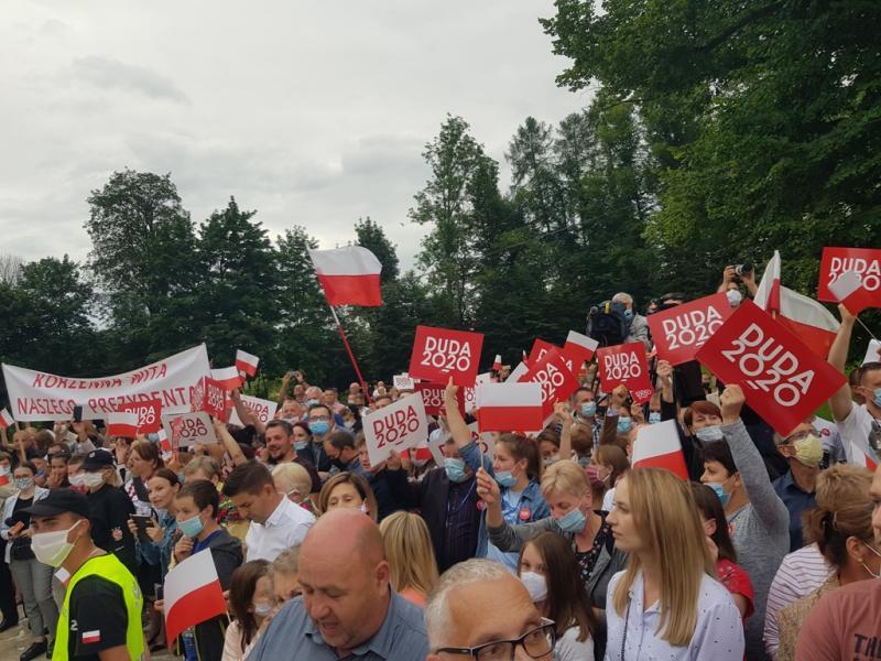 W gminie Korzenna Andrzej Duda zdeklasował Rafał Trzaskowskiego