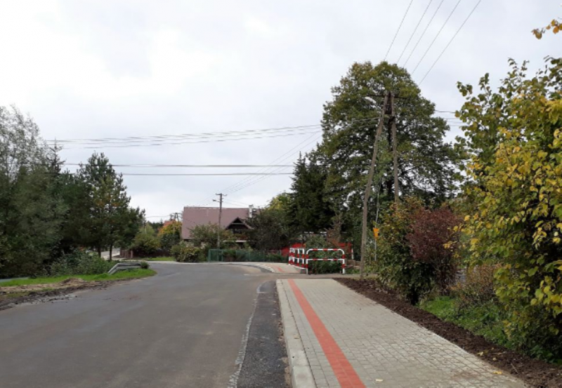 chodnik w Podolu Górowej