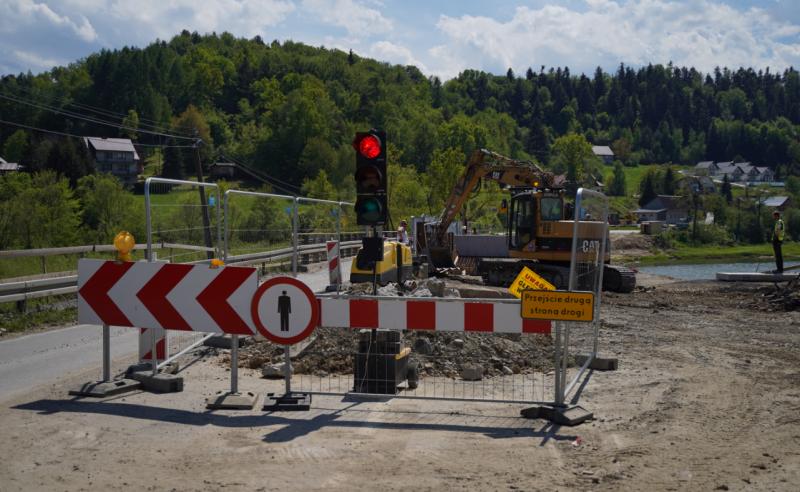Bartkowa-Posadowa: uwaga! Przez remont mostu cały dzień będą duże utrudnienia