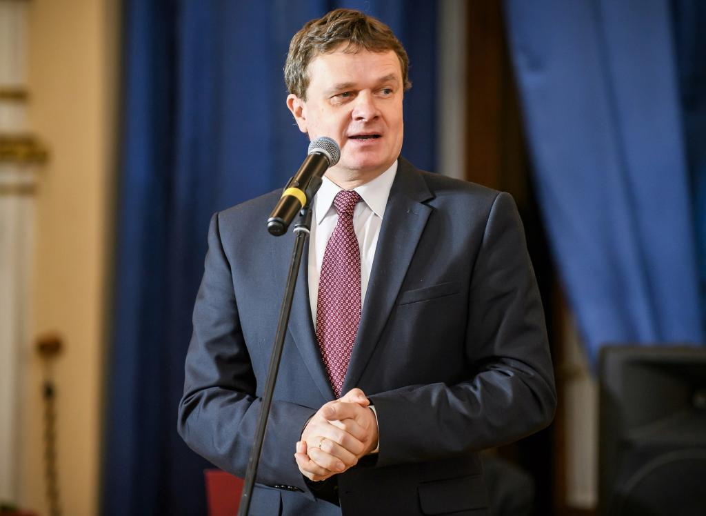 Dariusz Reśko, burmistrz Krynicy-Zdrój