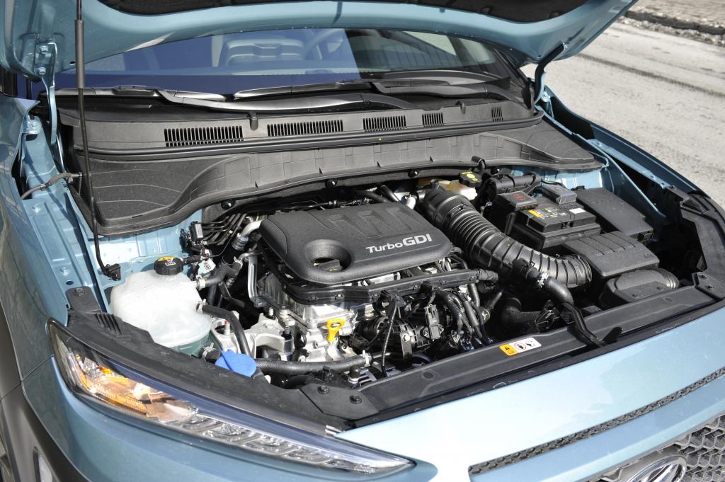 Hyundai Kona test redakcyjny - silnik
