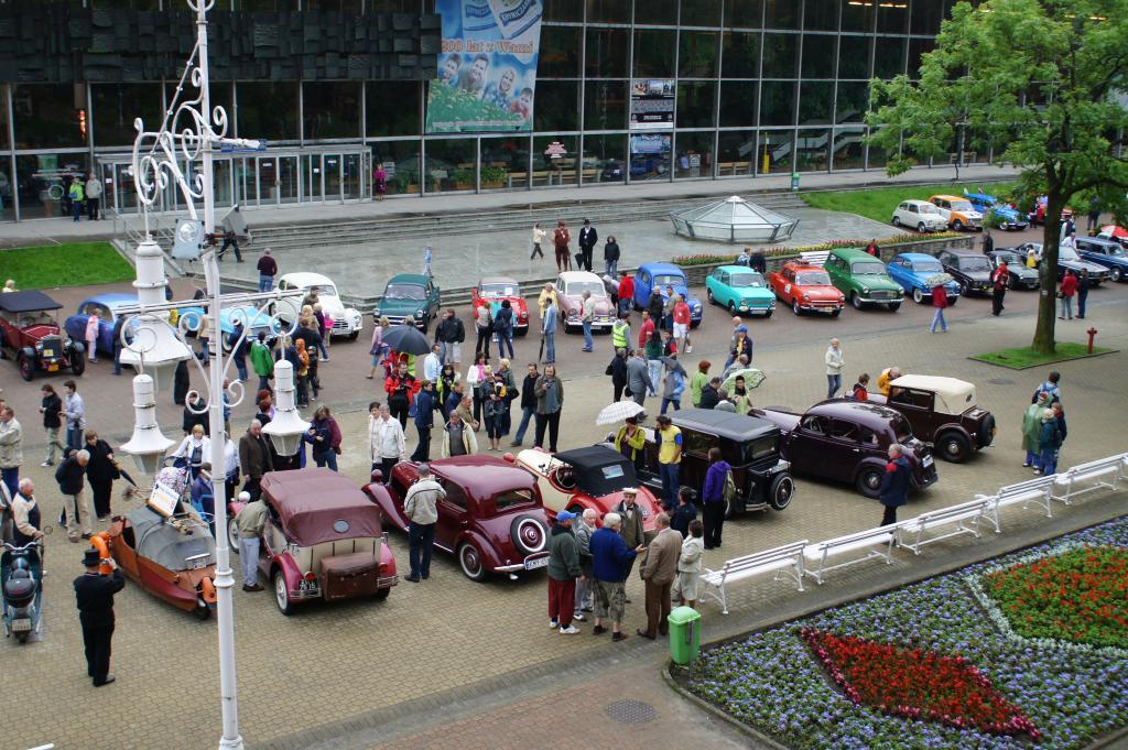 Zlot starych samochodów 2010 rok