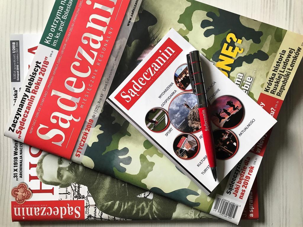 Zaprenumeruj miesięcznik Sadeczanin