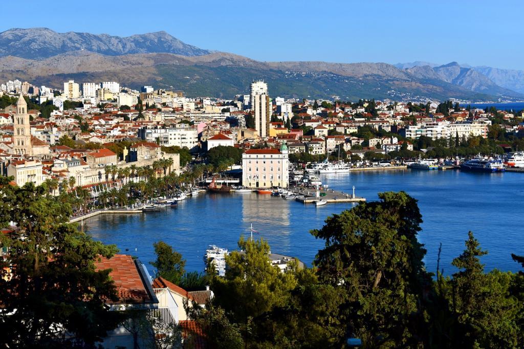 Split w Chorwacji. Fot. Pixabay