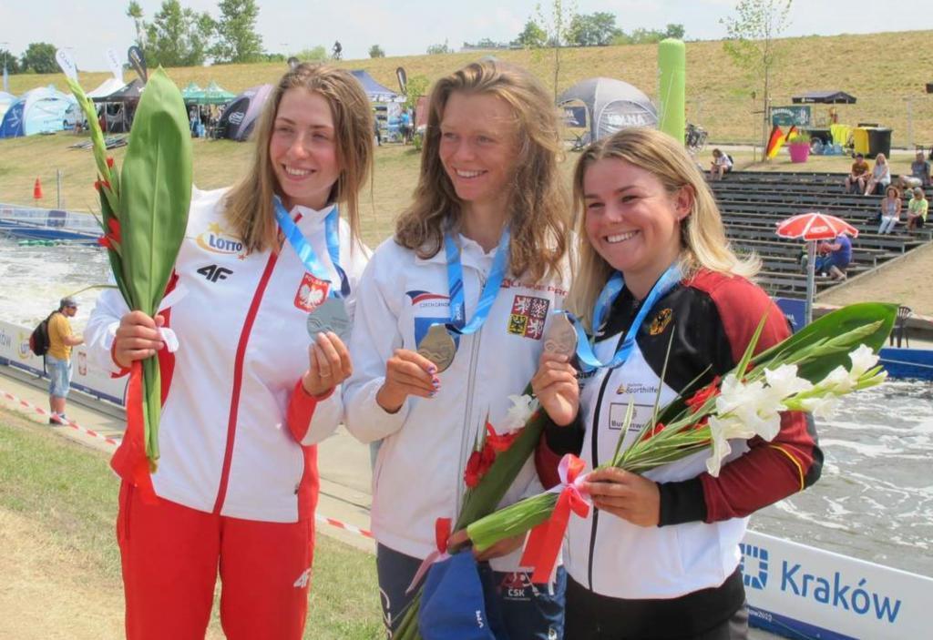Klaudia Zwolińska pierwsza z lewej. Fot. PZK
