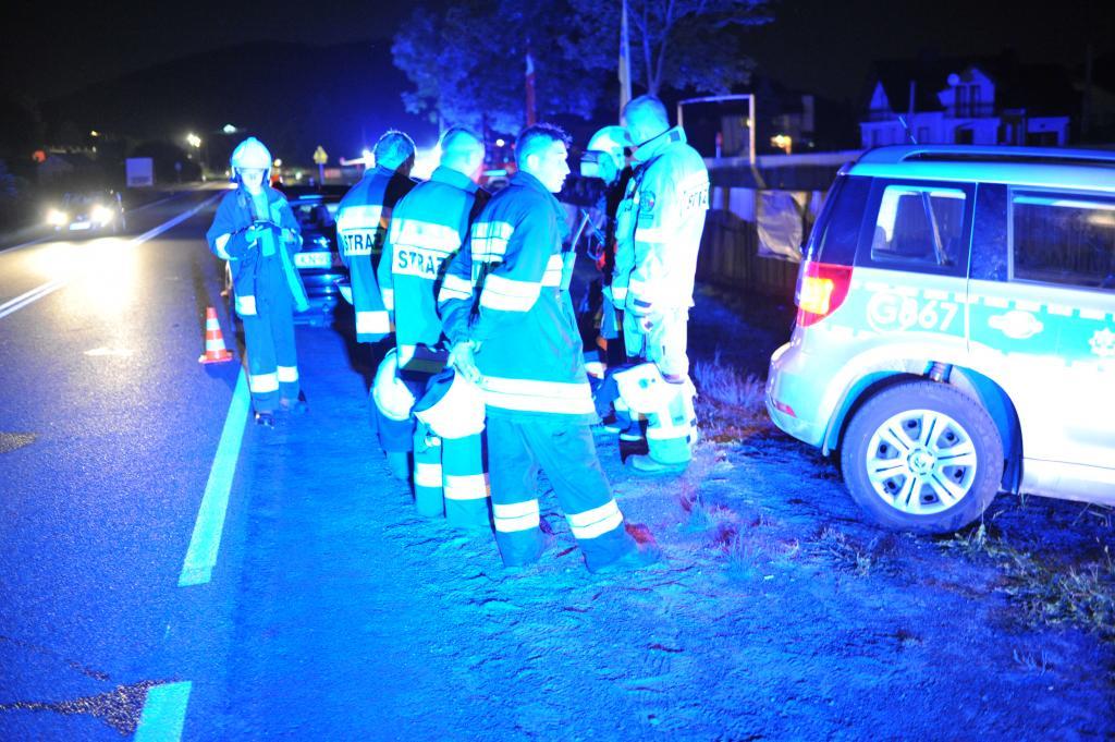 Tragiczny wypadek w Łososinie Dolnej 11 sierpnia 2019