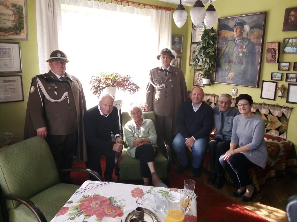 Andrzej Dobrodzicki u Marii Gizy-Podgórkskiej i Tadeusza Gizy