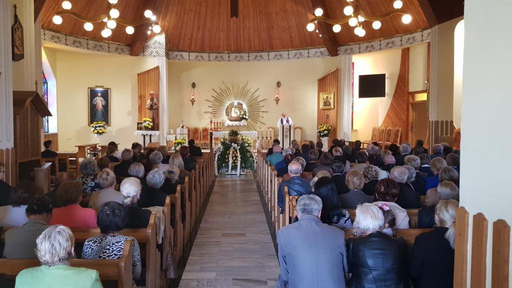 pożegnanie Janiny Berdychwskiej w Niskowej