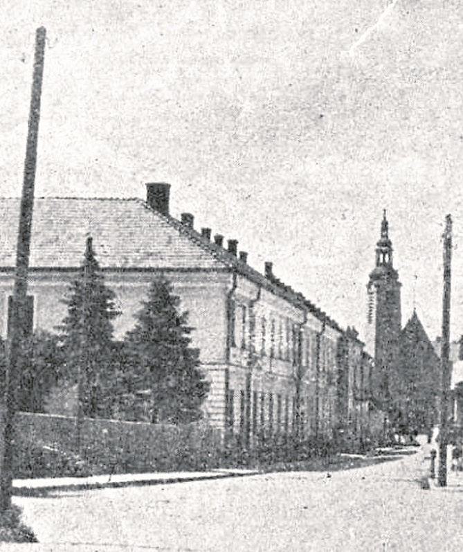 widok na CK starostwo w Limanowej