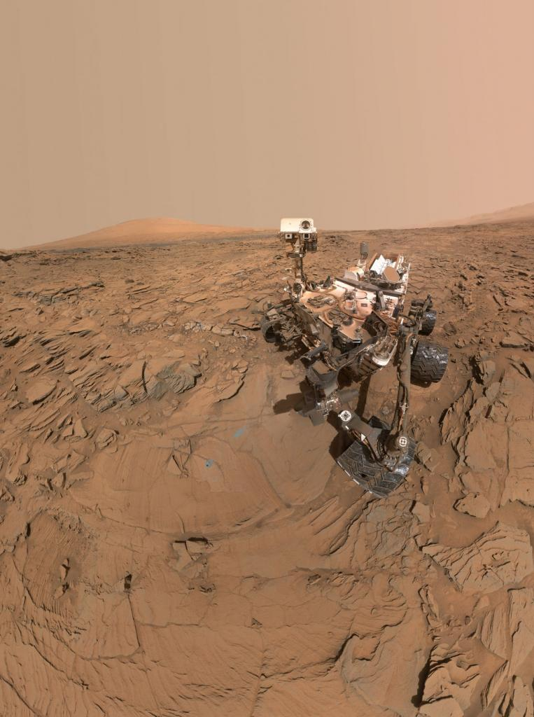 Sonda Curiosity na Marsie. fot. NASA
