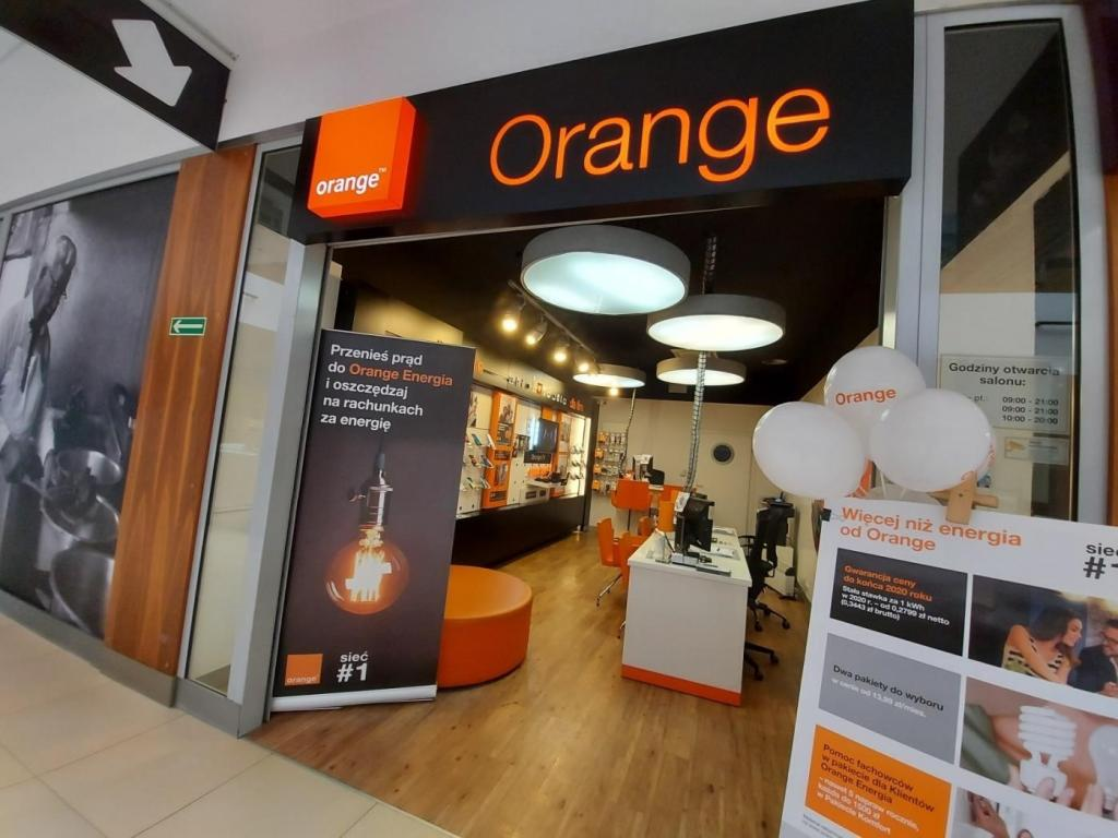 Orange Nowy Sącz, Prażmowskiego 11, C.H. Gołąbkowice, tel.: 18 414 39 42
