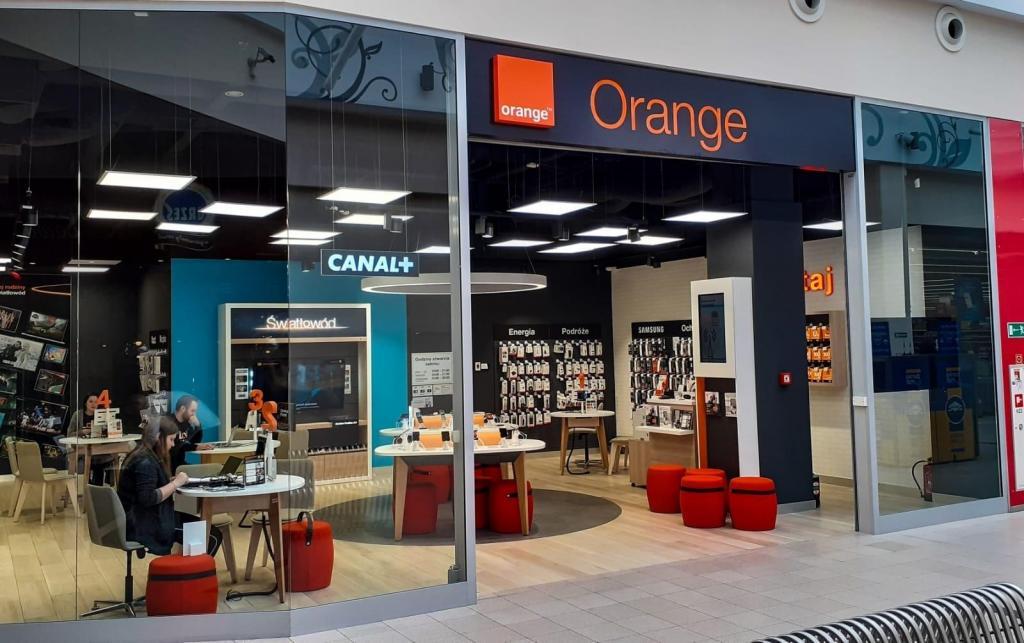 Orange Nowy Sącz Galeria Sandecja