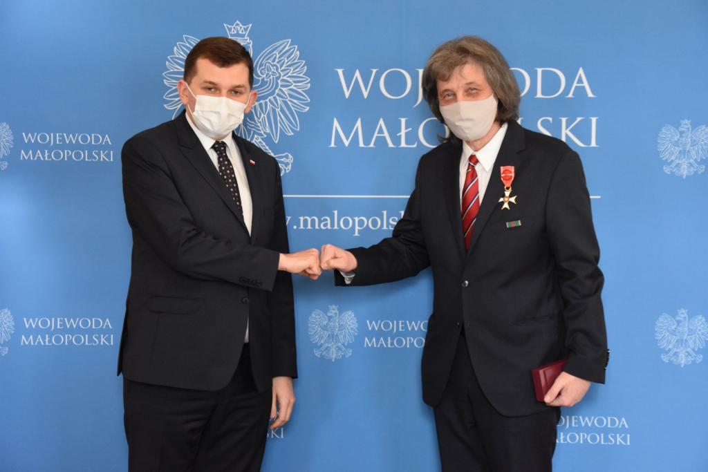 Jerzy Giza uhonorowany Krzyżem Oficerskim Orderu Odrodzenia Polski