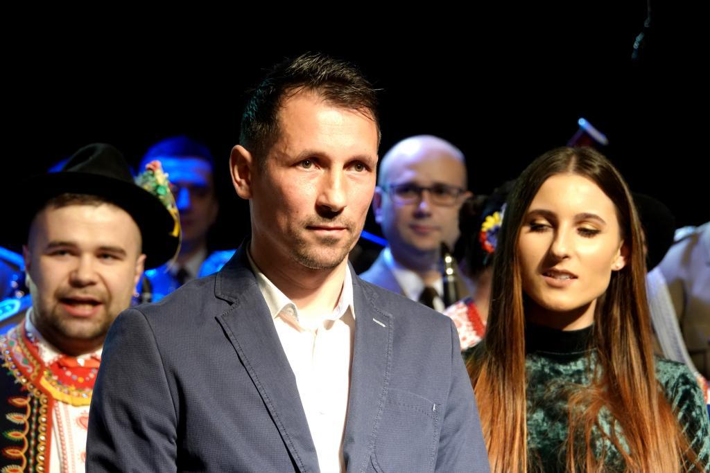 """Wojciech Mróz, laureat plebiscytu """"Sądeczanin Roku 2018"""". Fot. M. Olszowska"""