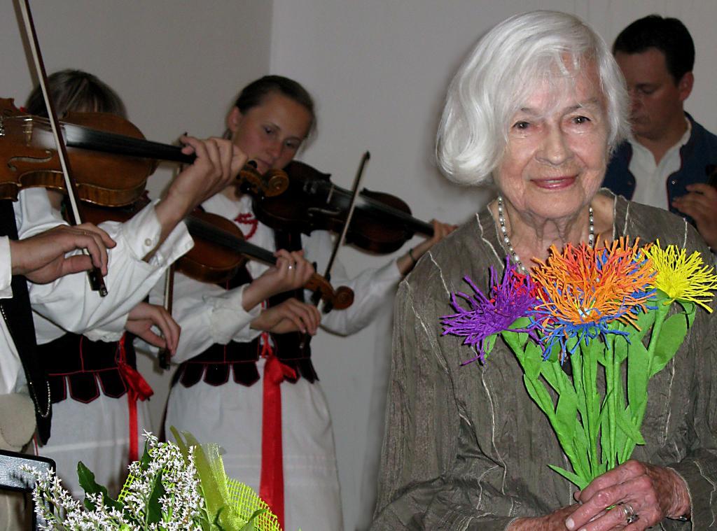 Danuta Szaflarska. Fot. Barbara Paluchowa