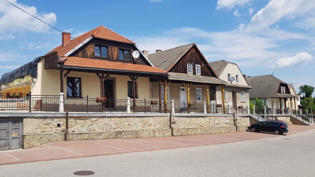 Rynek w Czchowie. Fot. TK