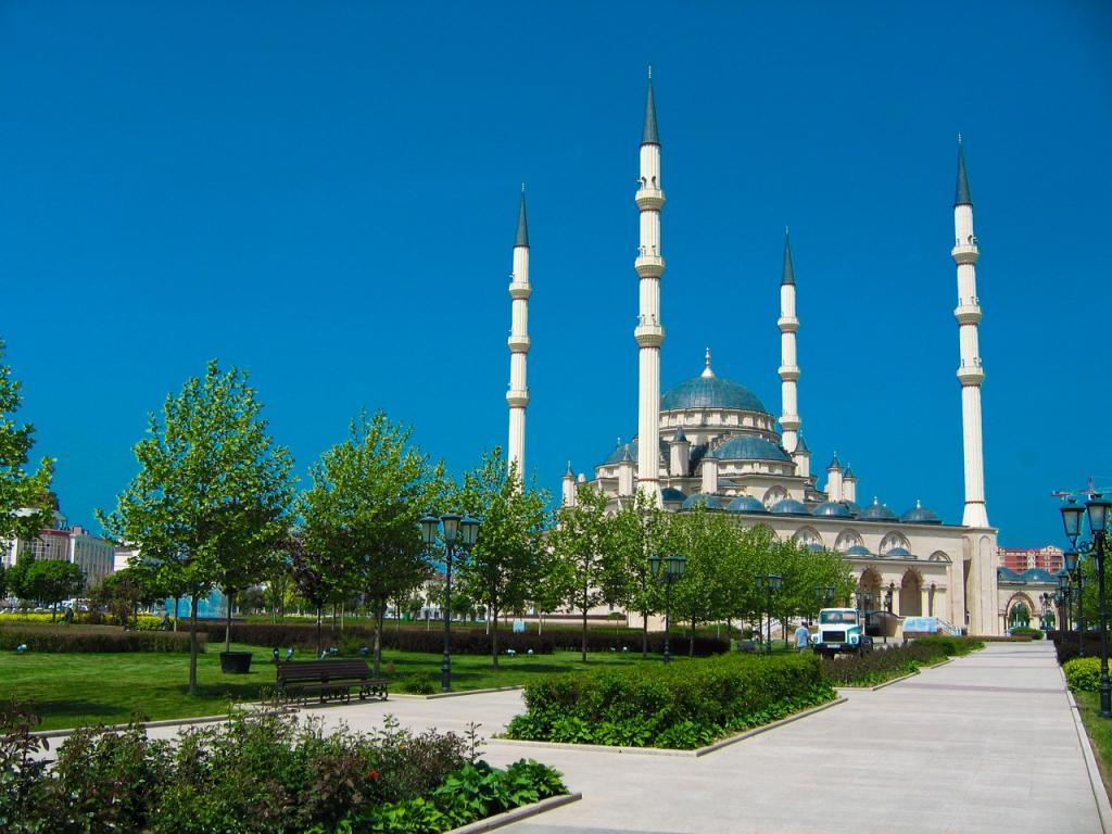 Czeczenia. Meczet w Groznym. Fot. Pixabay