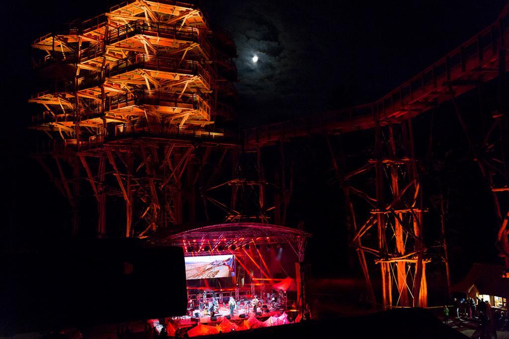 Słotwiny Arena, Krynica-Zdrój: koncert pod wieżą
