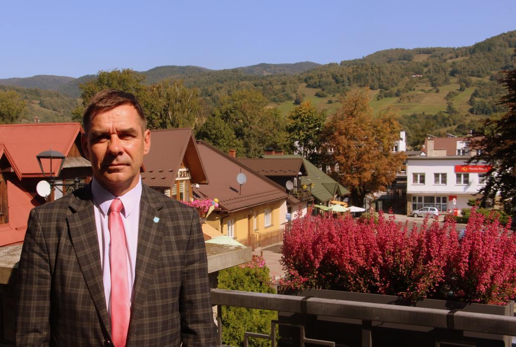 Dariusz Chorużyk, burmistrz Piwnicznej-Zdroju