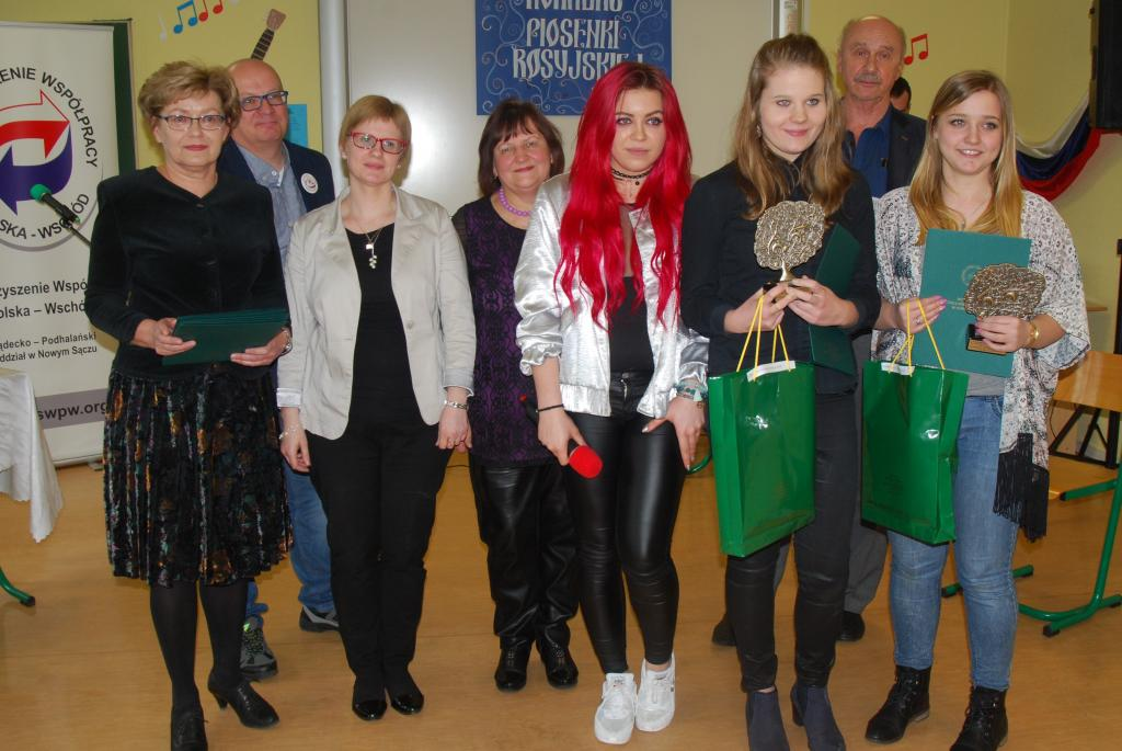 W Instytucie Języków Obcych Państwowej Wyższej Szkoły Zawodowej w Nowym Sączu odbył się I Konkurs Piosenki Rosyjskiej.