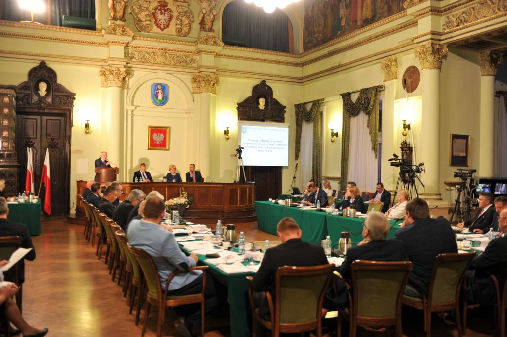 Sesja Rady Miejskiej Nowy Sącz