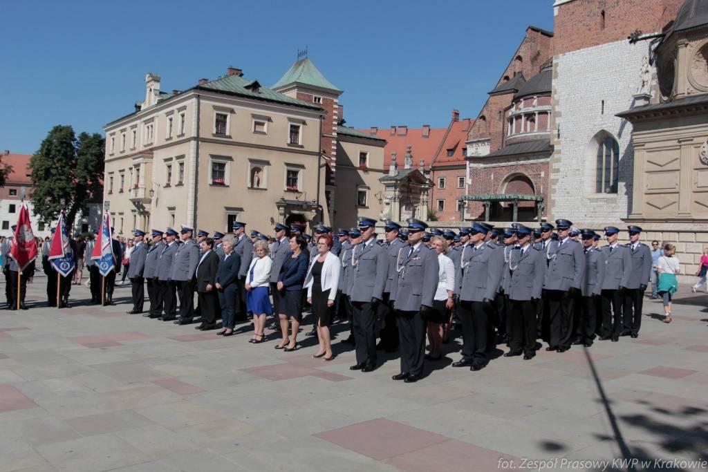Święto małopolskiej Policji na Wawelu
