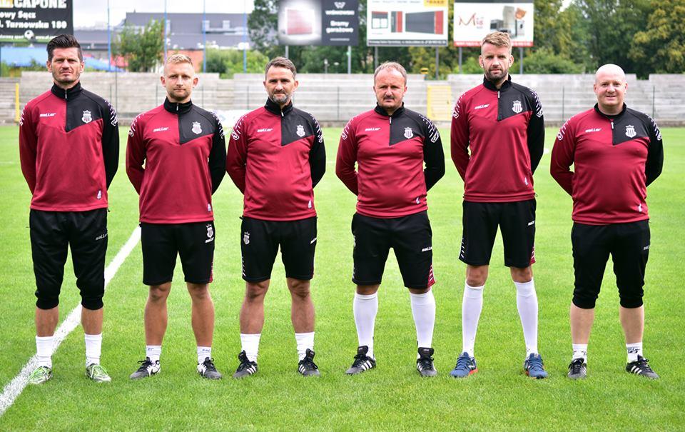 44485efb3 Nowy trener Sandecji ma już nowy sztab szkoleniowy   Nowy Sącz, klub ...