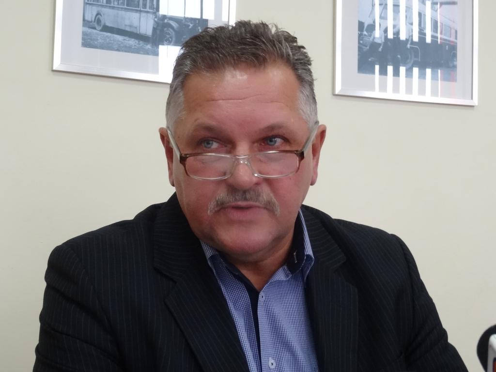 Krzysztof Migacz, prezes MPK