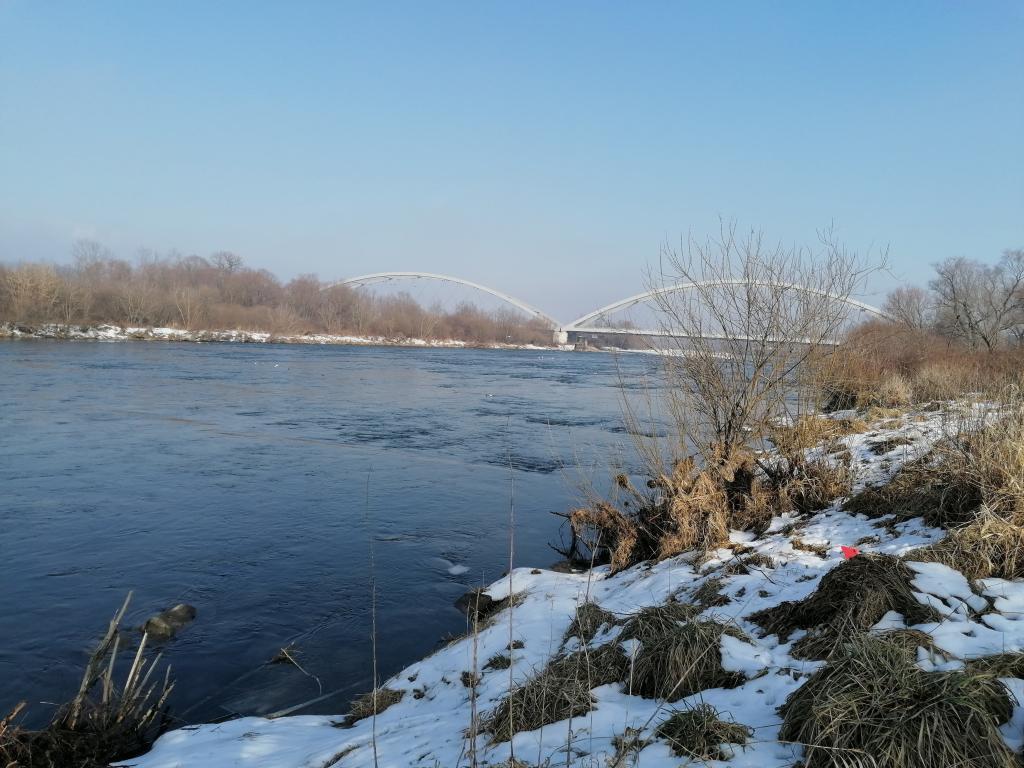 Dunajec w Nowym Sączu. Fot. IM