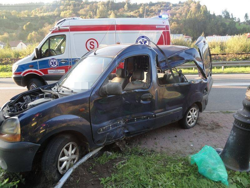 Groźny wypadek w Muszynie